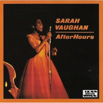 Portada del álbum After Hours de Sarah Vaughan