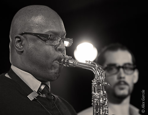 Aruán Ortiz & Michael Janisch Quintet-Osby y Colom