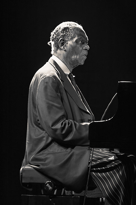 McCoy Tyner en Alicante en 2007; ©Álex García