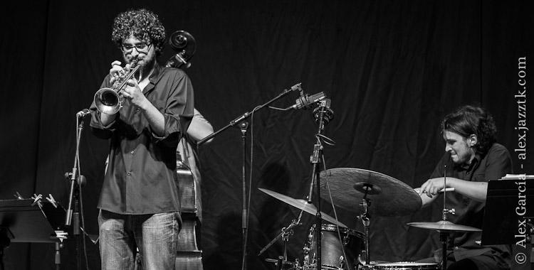 Iago Fernández Quintet - Voro García y Iago Fernández; © Álex García