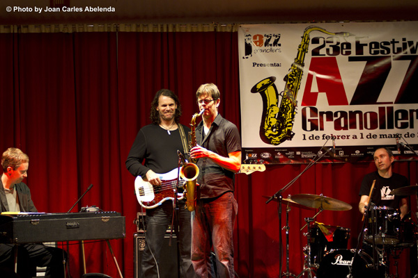Donny McCaslin Group; ©Joan Carles Abelenda