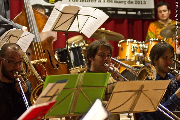 David Mengual-Seccion trombones © Joan Carles Abelenda