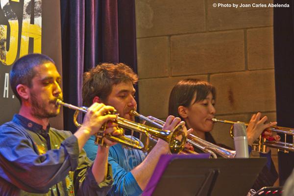 Sección trompetas © Joan Carles Abelenda