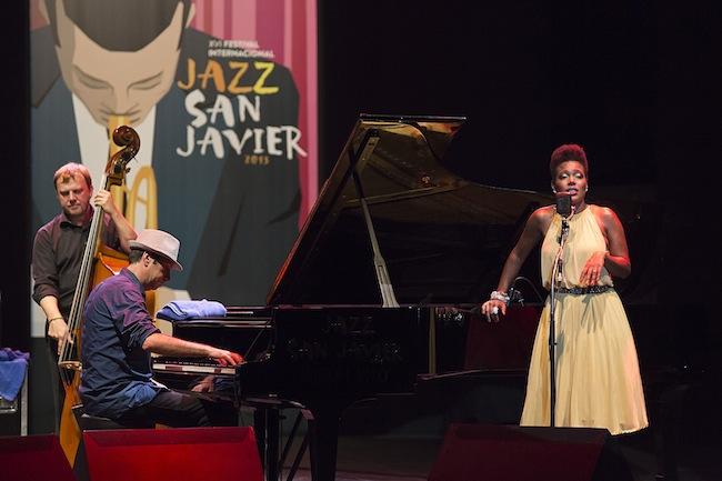 China Moses & Raphael Lemonnier; Copyright: RMellado/Jazz San Javier