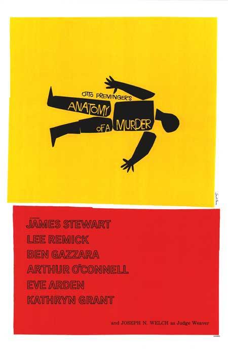 Cartel de la película Anatomía de un asesinato