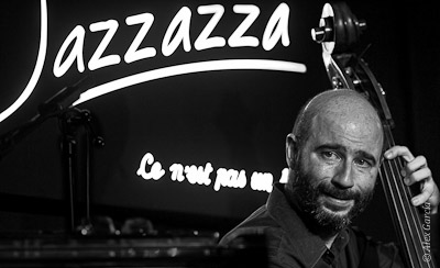 Ignasi González - Contrabajeando en Jazzazza