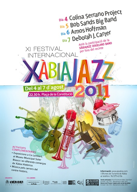 Cartel XI Festival Internacional Xàbia Jazz