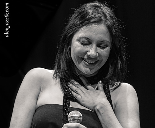 Eva Cortés Quartet: simpatía en el escenario