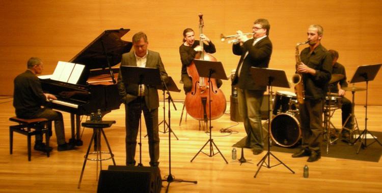 David Pastor Quinteto y Lluis Roda; © Santi Linares