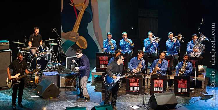 Travellin' Brothers Big Band; © Álex García