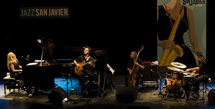 Eliane Elias y su grupo; Copyright: RMellado/Jazz San Javier